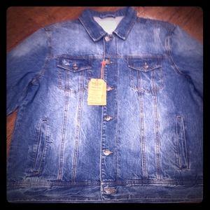 Vintage Denim Mens Jacket